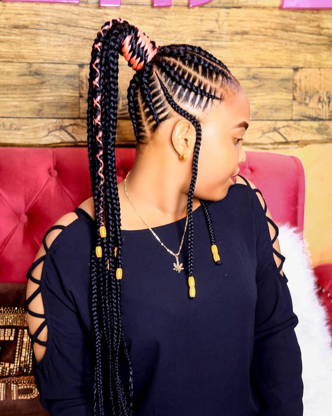 tribal braids 1