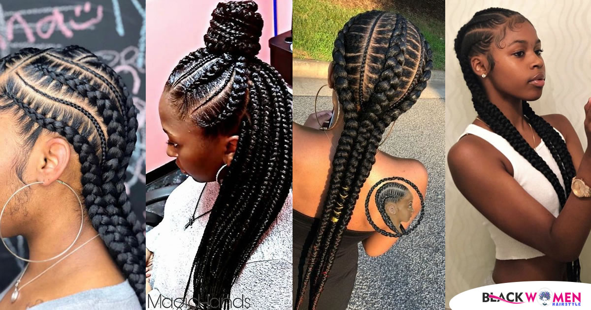 75 Best Ghana Braids Styles for 2021