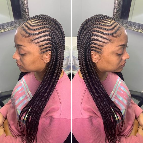 Best Braids Hairstyles Very Protective Get Your Edges Laid Hunnie 3