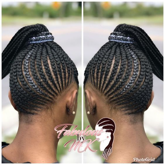 Braid Hairstyles With Weave 2020 Creative Styles to nspire You 4