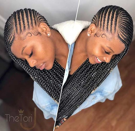 Braid Hairstyles With Weave 2020 That Will Turn Heads 6
