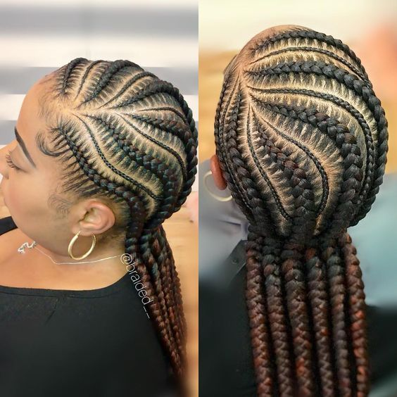 Braid Styles For Natural Hair Growth On All Hair Types For Black Women 7