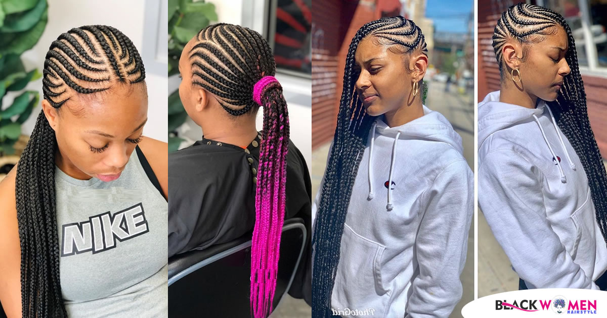 55 Feed in Braids Styles : Amazing Looks to Try