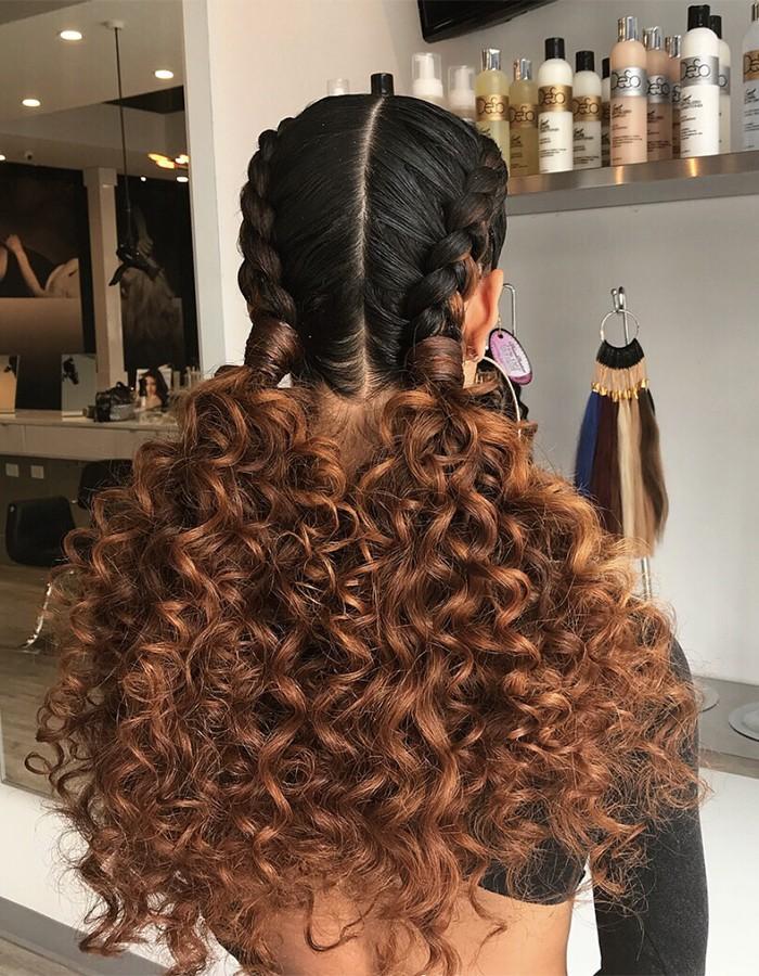 big braids curly hair 700