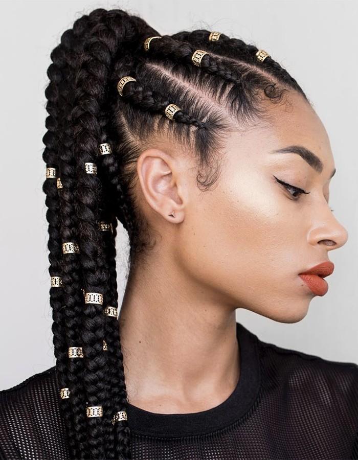 feed in braids ponytail 700