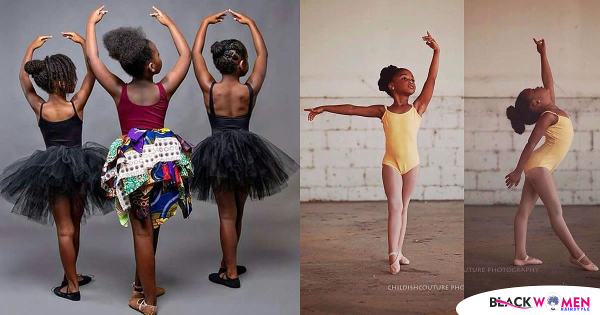 165 Great Bun Models for Pretty Little Girls Making Ballet Shows