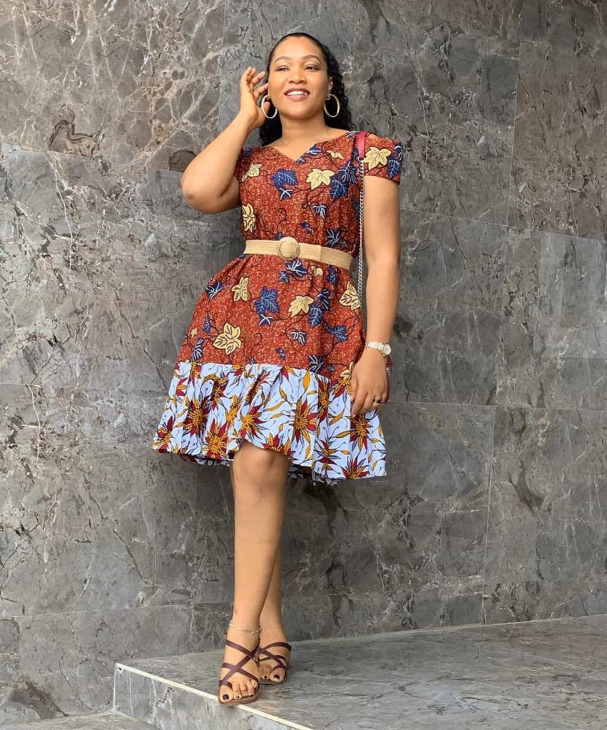25 PHOTOS Lovely Ankara Styles by Bellaraju African Dress 3 851x1024 1