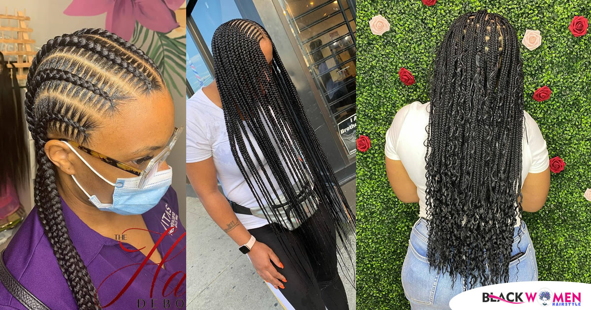 46 Pictures: Different Types Of Braids Styles For Black Hair: 2020 Best Braids For Ladies