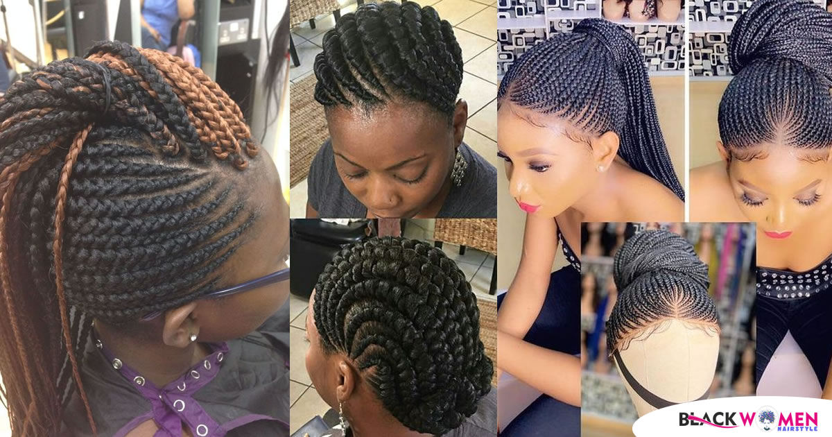 55 Ghana Braids Hairstyle Trends: Cute Looks of Braided Styles