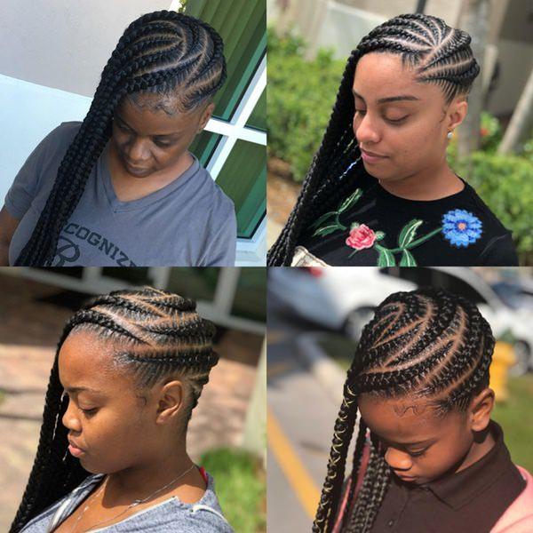 55040418 feed in braids