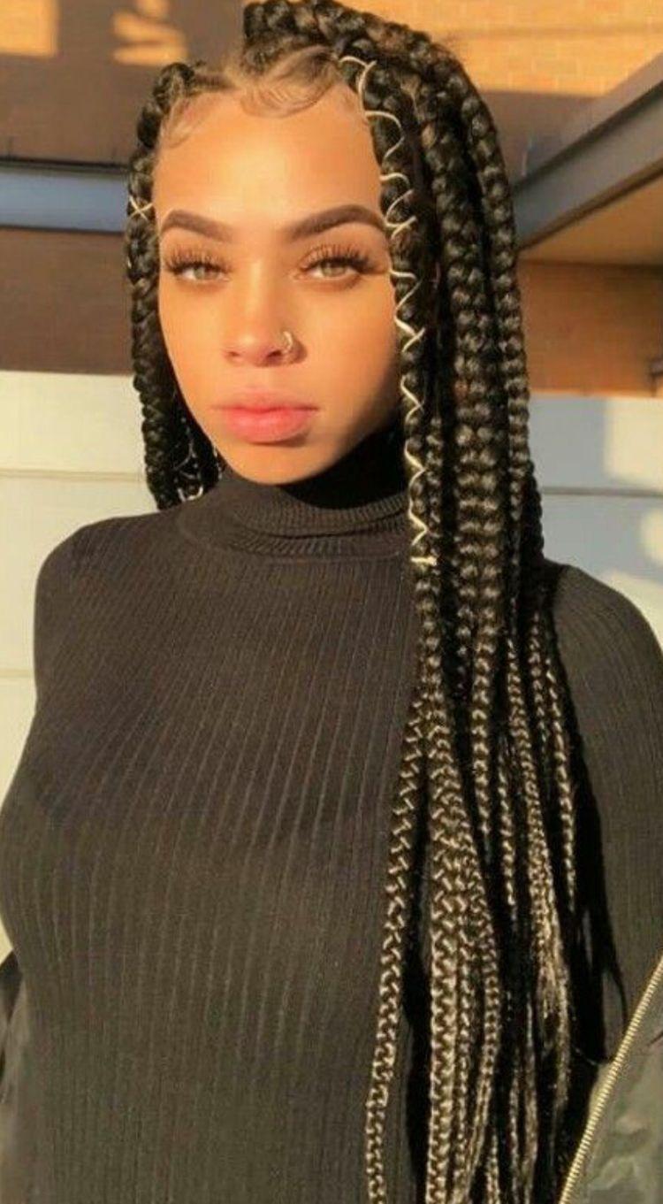BEST Braided Hairstyles 2021 hairstyleforblackwomen.net 1063