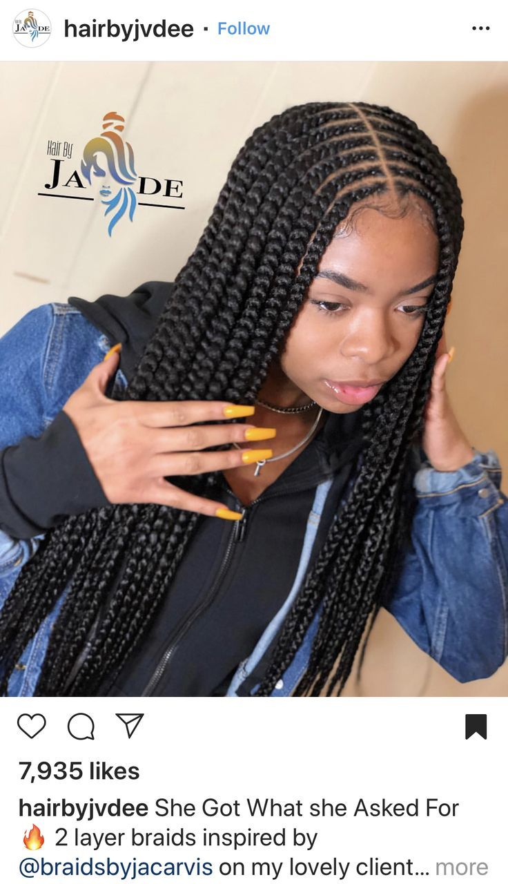 BEST Braided Hairstyles 2021 hairstyleforblackwomen.net 1202