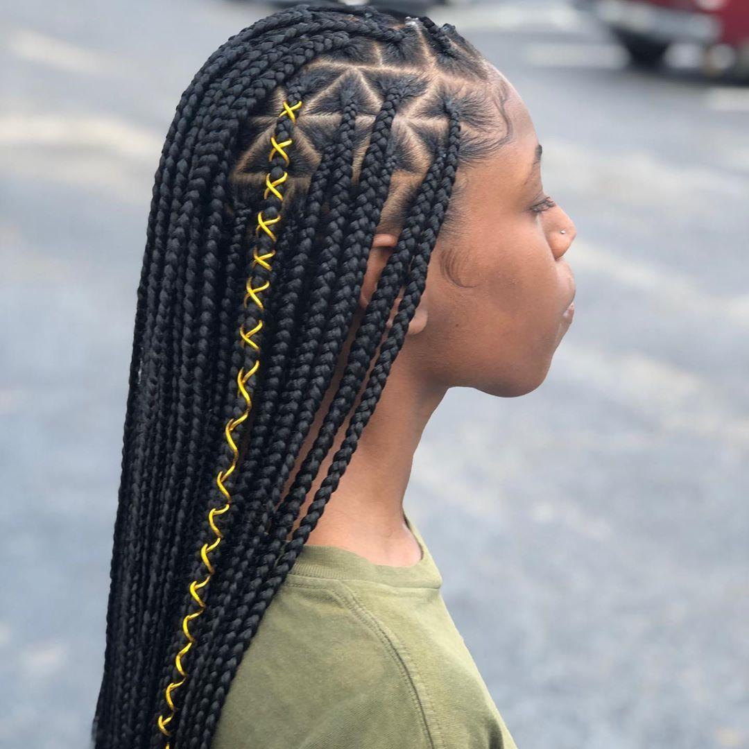BEST Braided Hairstyles 2021 hairstyleforblackwomen.net 1237