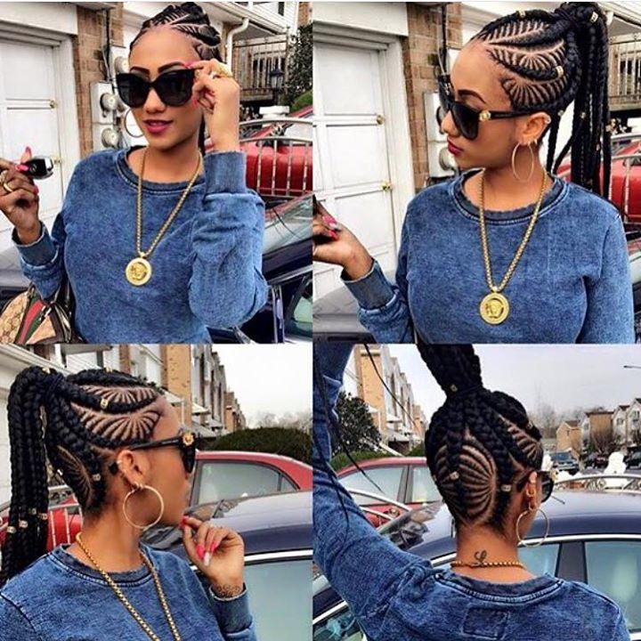 BEST Braided Hairstyles 2021 hairstyleforblackwomen.net 1254