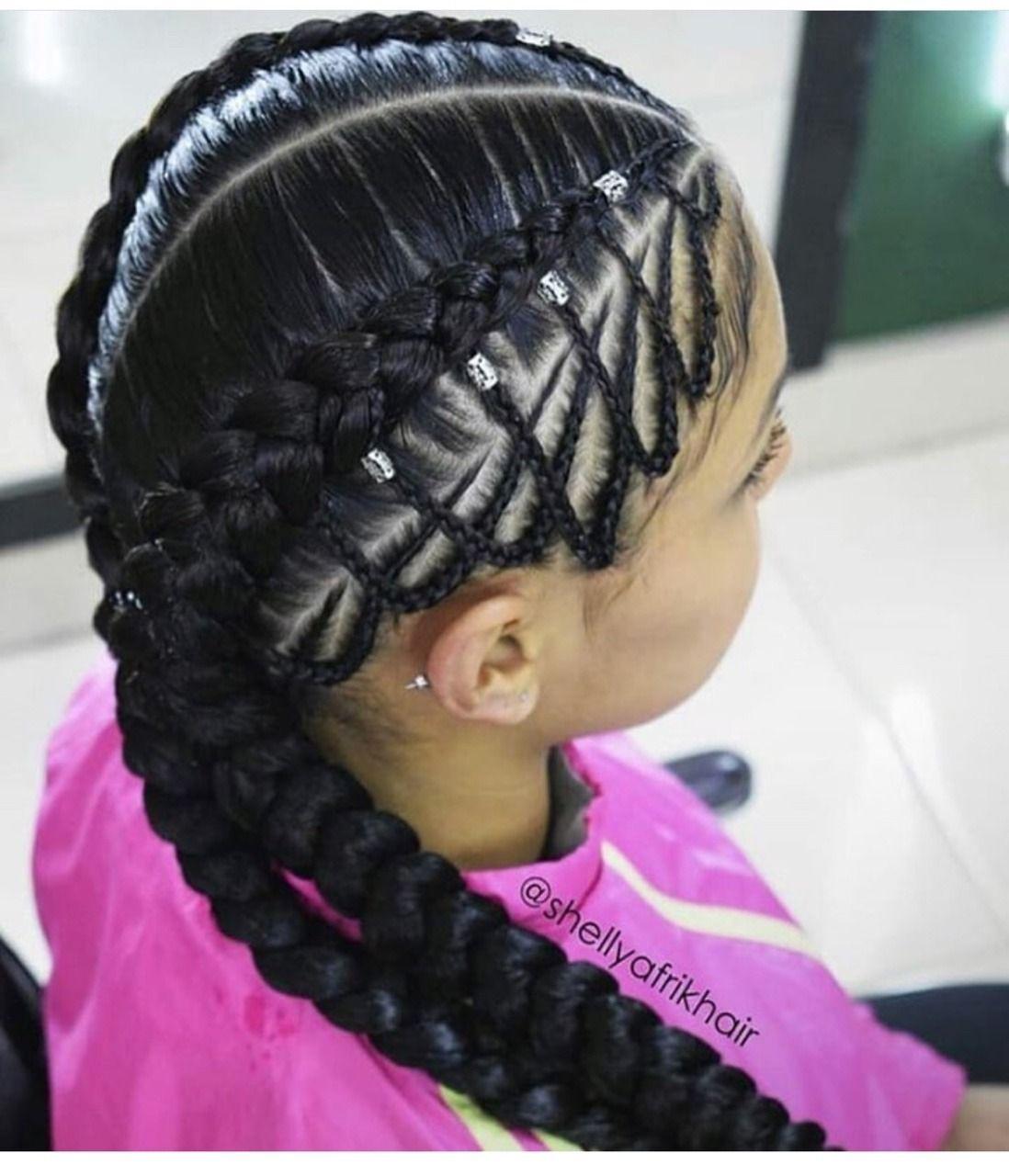 BEST Braided Hairstyles 2021 hairstyleforblackwomen.net 1274