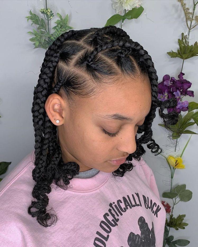BEST Braided Hairstyles 2021 hairstyleforblackwomen.net 141