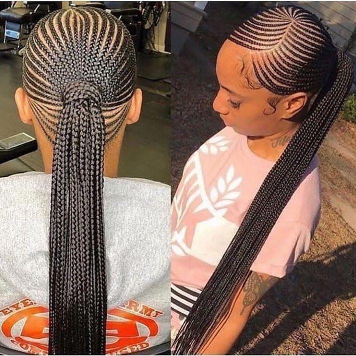 BEST Braided Hairstyles 2021 hairstyleforblackwomen.net 156