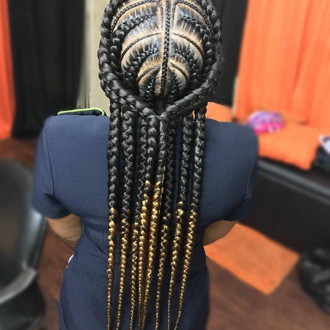 BEST Braided Hairstyles 2021 hairstyleforblackwomen.net 438