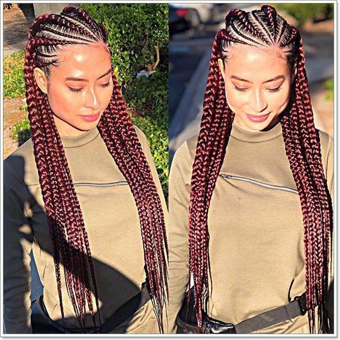 BEST Braided Hairstyles 2021 hairstyleforblackwomen.net 469