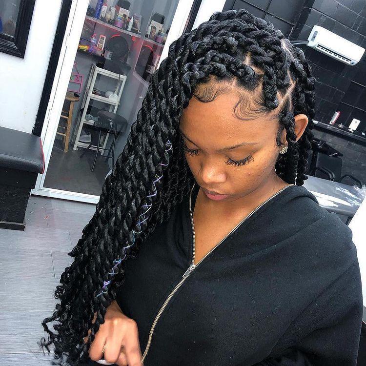 BEST Braided Hairstyles 2021 hairstyleforblackwomen.net 493
