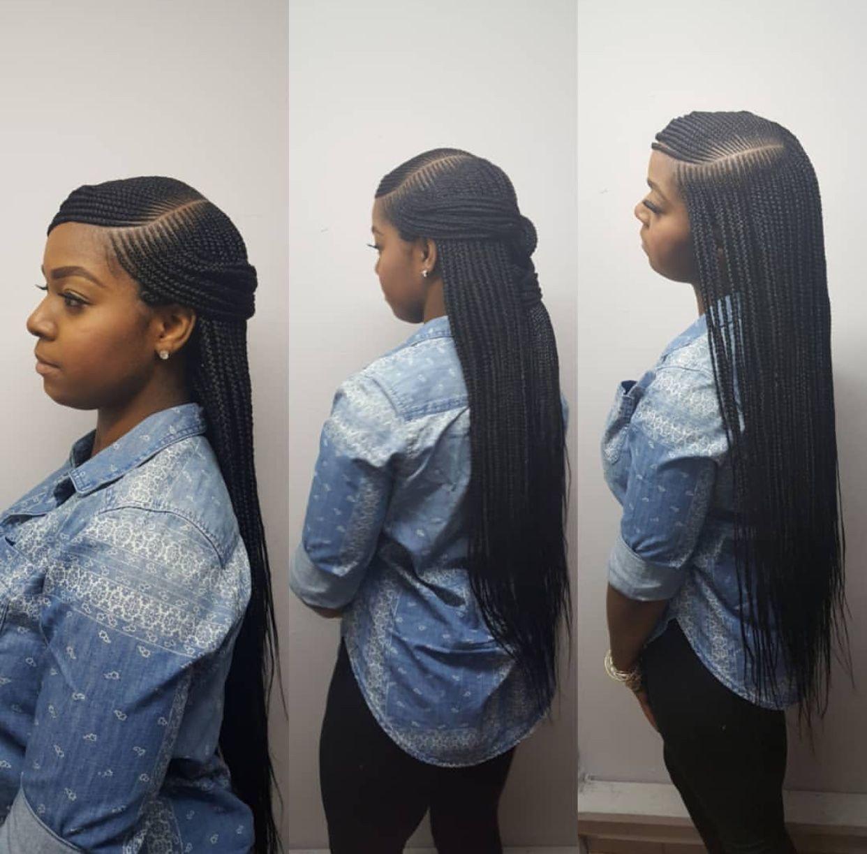 BEST Braided Hairstyles 2021 hairstyleforblackwomen.net 50