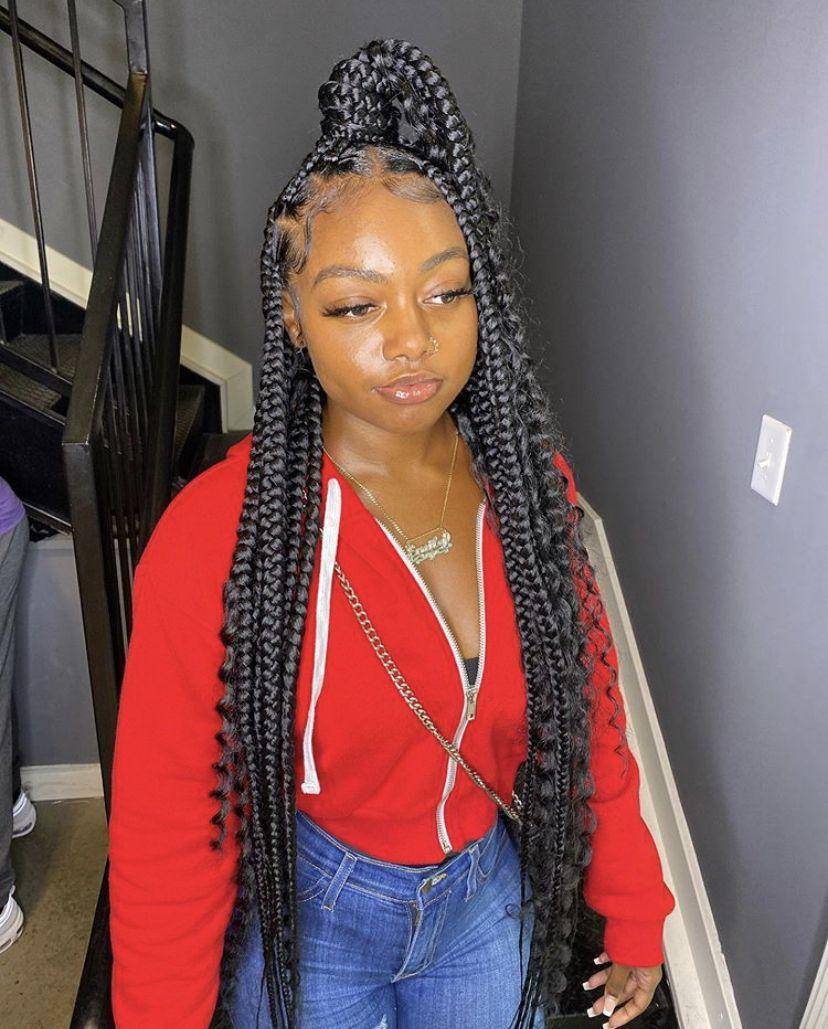 BEST Braided Hairstyles 2021 hairstyleforblackwomen.net 57