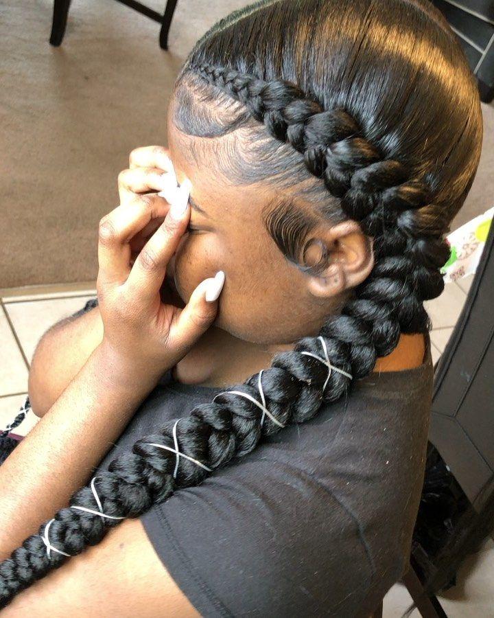 BEST Braided Hairstyles 2021 hairstyleforblackwomen.net 570