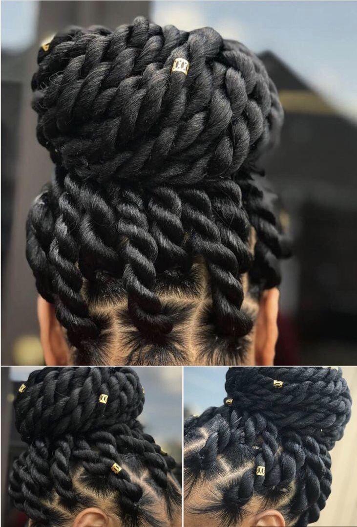 BEST Braided Hairstyles 2021 hairstyleforblackwomen.net 666