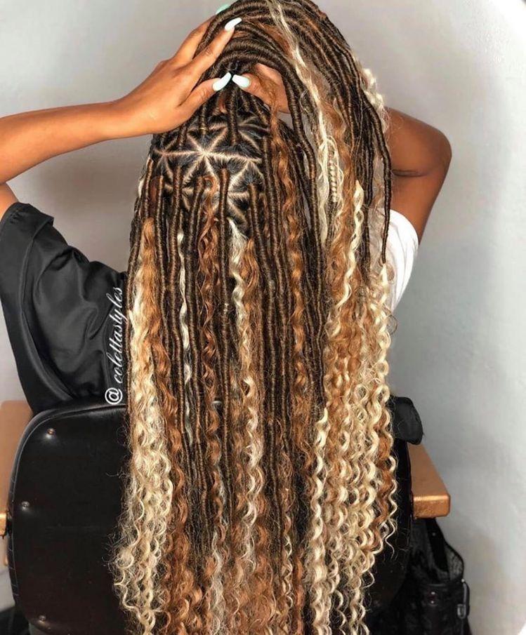 BEST Braided Hairstyles 2021 hairstyleforblackwomen.net 750