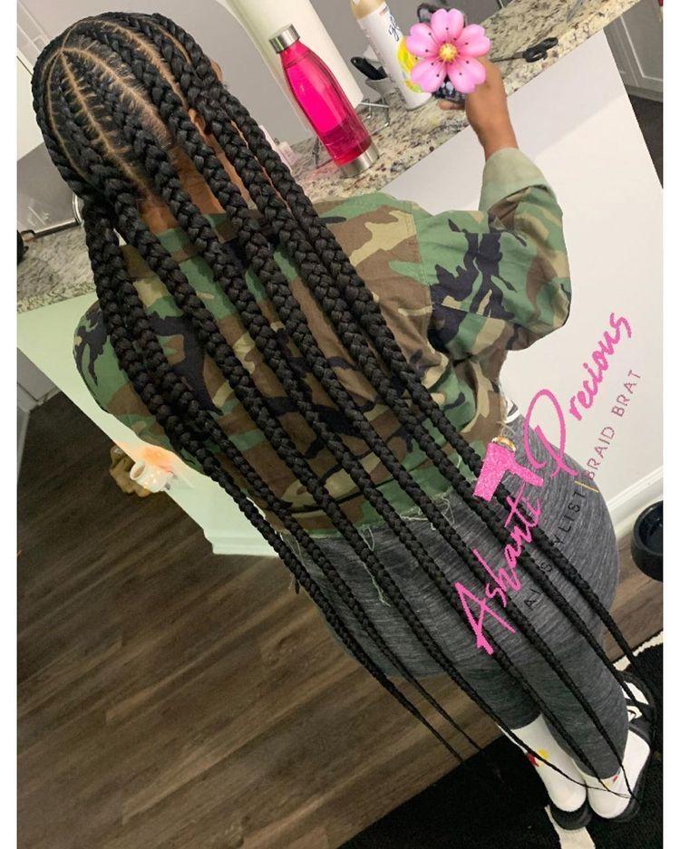 BEST Braided Hairstyles 2021 hairstyleforblackwomen.net 786