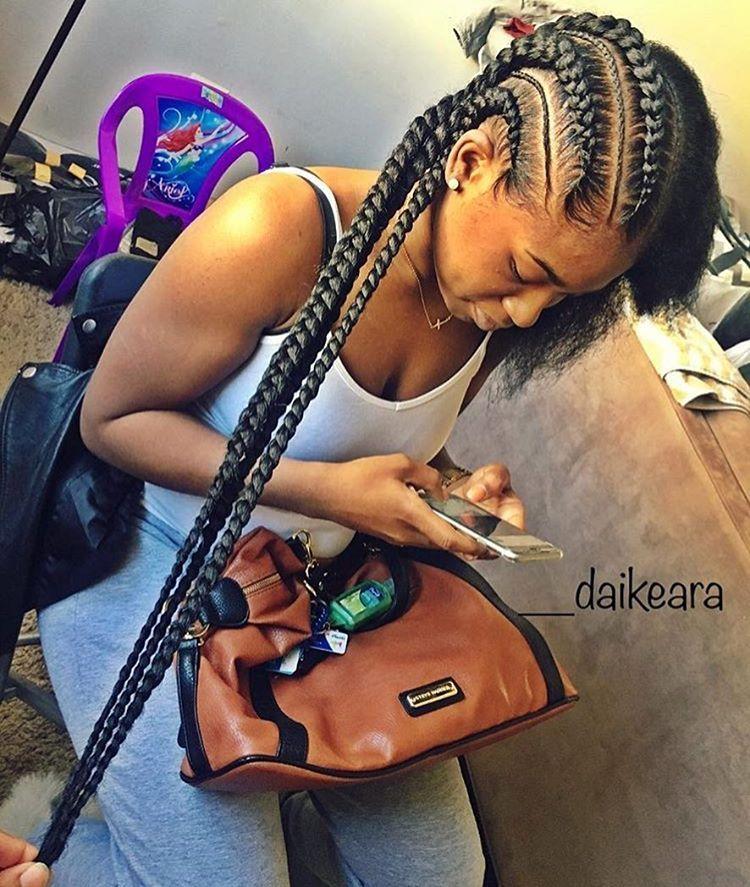BEST Braided Hairstyles 2021 hairstyleforblackwomen.net 865