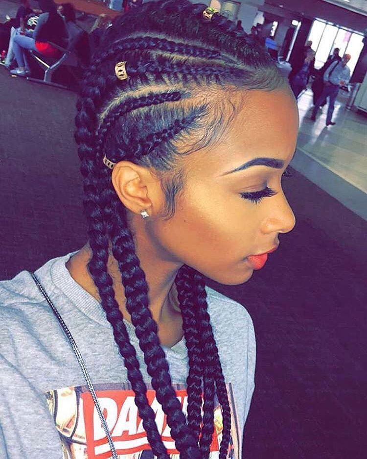 BEST Braided Hairstyles 2021 hairstyleforblackwomen.net 869