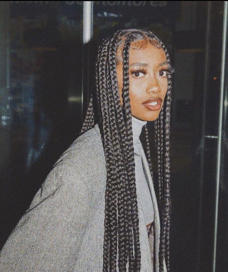 BEST Braided Hairstyles 2021 hairstyleforblackwomen.net 943