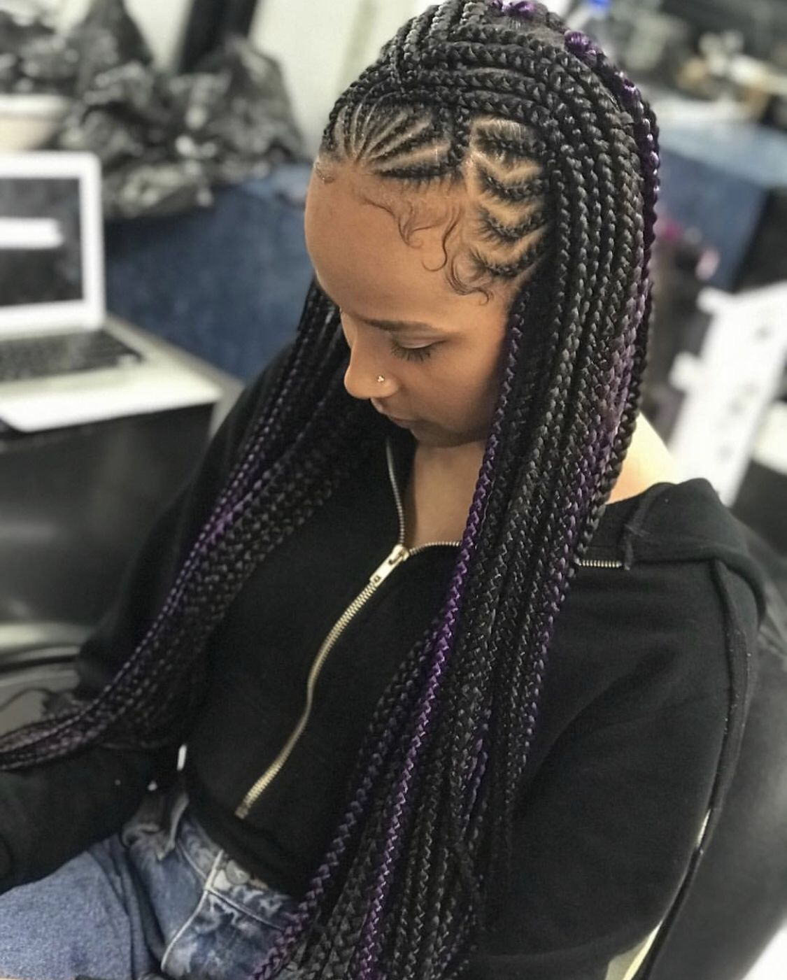 Beautiful Braided Hairstyles 2021 hairstyleforblackwomen.net 52