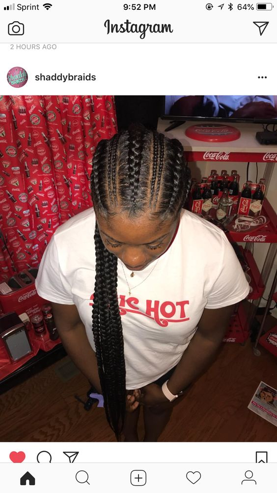 Best Ghana Braids Hairstyles 2021 hairstyleforblackwomen.net 1249