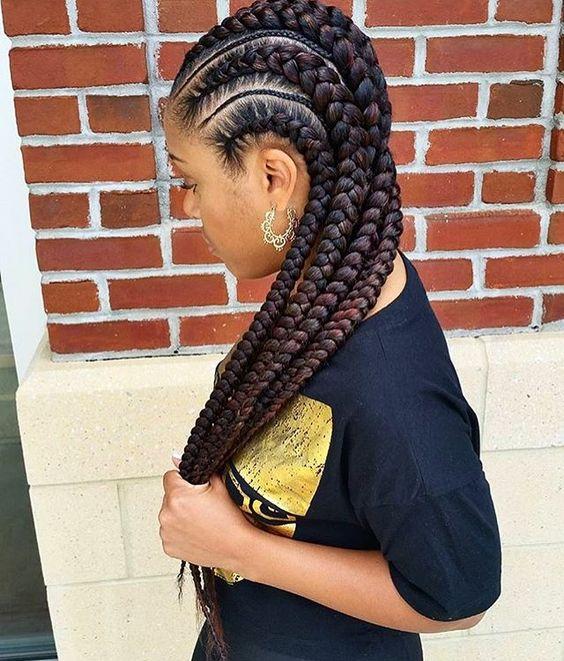 Best Ghana Braids Hairstyles 2021 hairstyleforblackwomen.net 1340