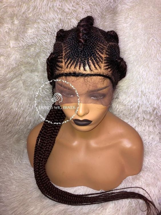 Best Ghana Braids Hairstyles 2021 hairstyleforblackwomen.net 274