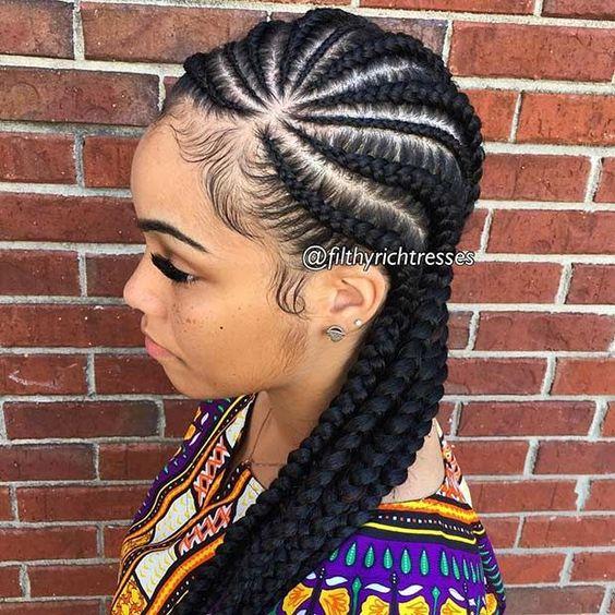 Best Ghana Braids Hairstyles 2021 hairstyleforblackwomen.net 433