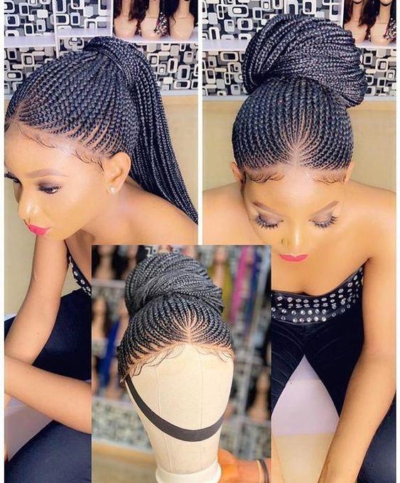 Best Ghana Braids Hairstyles 2021 hairstyleforblackwomen.net 574