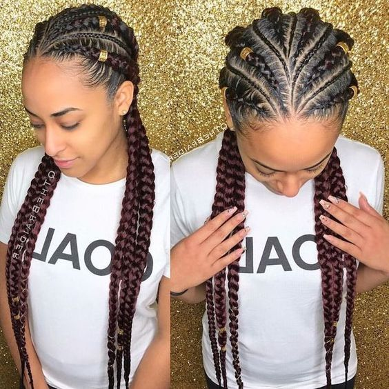 Best Ghana Braids Hairstyles 2021 hairstyleforblackwomen.net 585