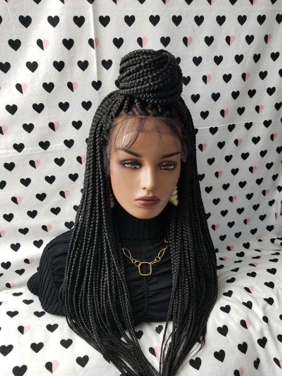 Best Ghana Braids Hairstyles 2021 hairstyleforblackwomen.net 600