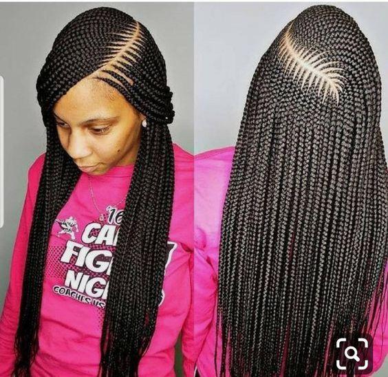 Best Ghana Braids Hairstyles 2021 hairstyleforblackwomen.net 62