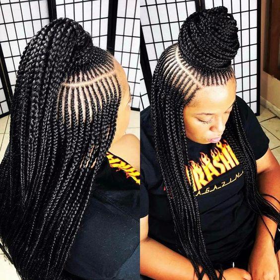 Best Ghana Braids Hairstyles 2021 hairstyleforblackwomen.net 712