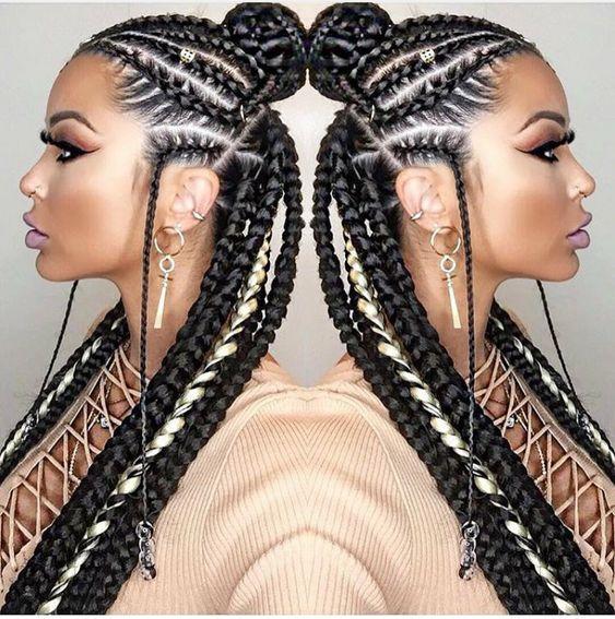 Best Ghana Braids Hairstyles 2021 hairstyleforblackwomen.net 78