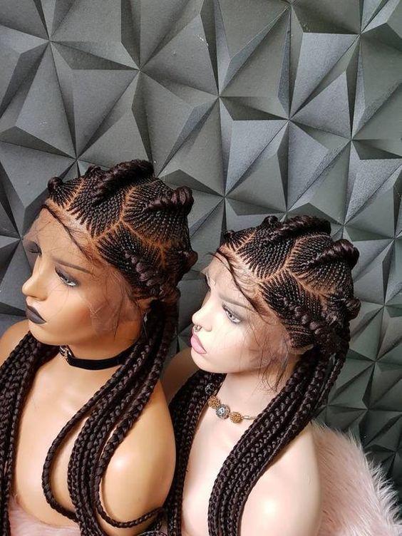 Best Ghana Braids Hairstyles 2021 hairstyleforblackwomen.net 851
