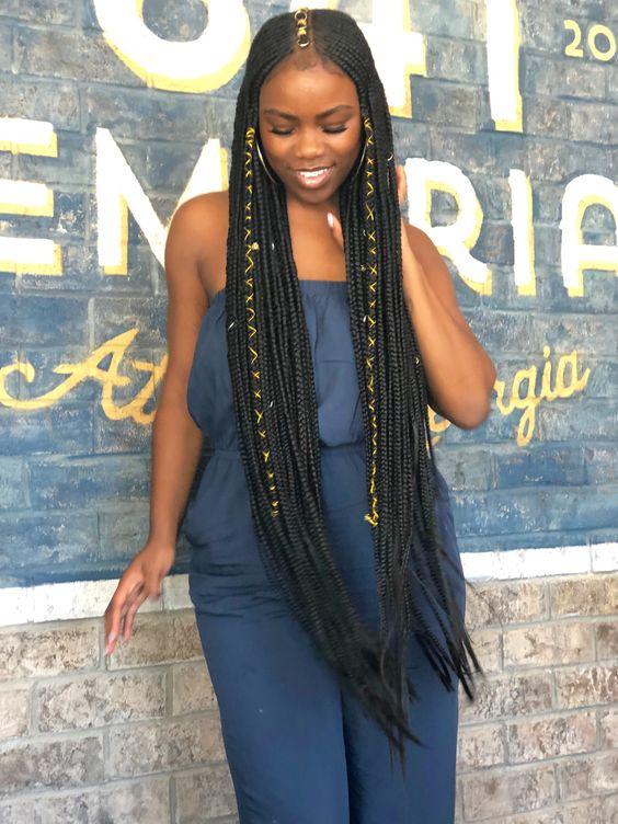 Best Ghana Braids Hairstyles 2021 hairstyleforblackwomen.net 924