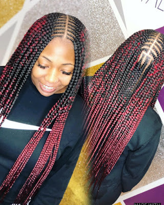 Black Braided Hairstyles for ladies 16