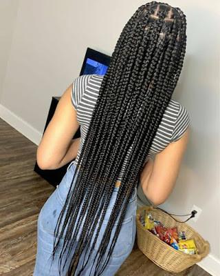 Black Braided Hairstyles for ladies 18