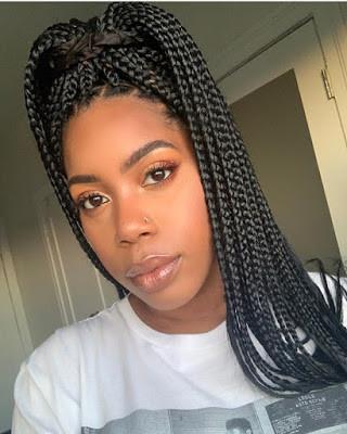 Black Braided Hairstyles for ladies 7