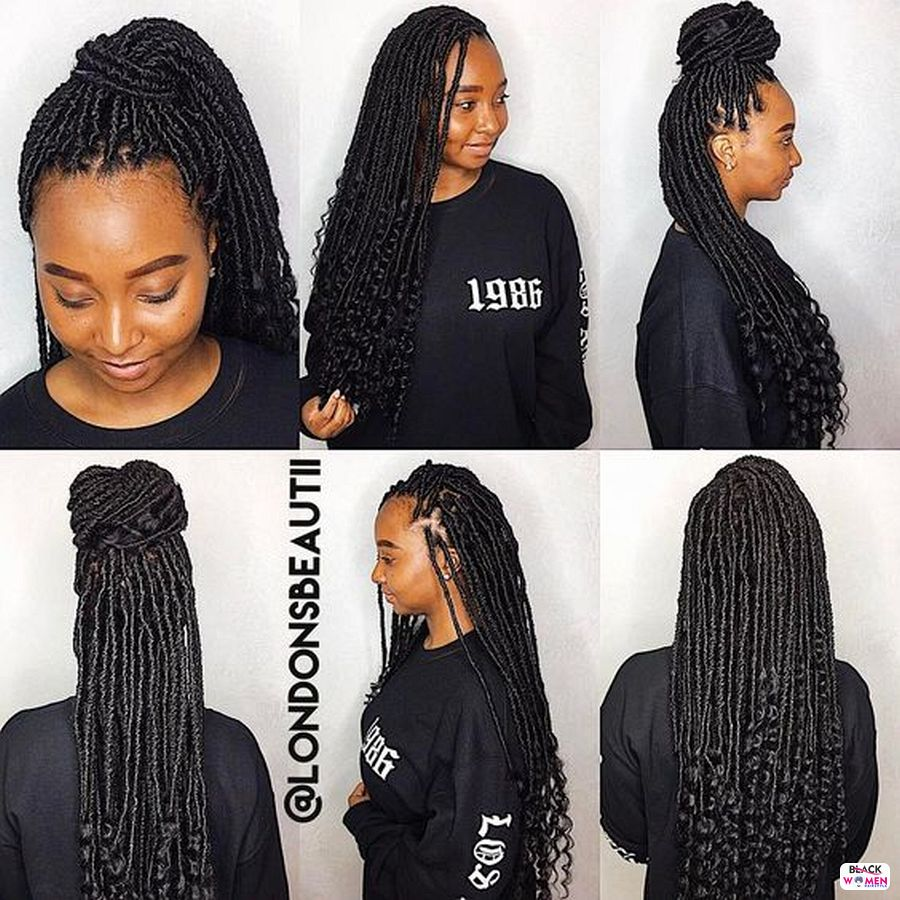 Braided Goddess Goddess Braids Hairstyles 2021 hairstyleforblackwomen.net 1759